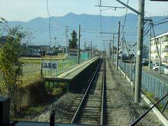 こういう片面ホームの駅も多い。