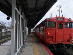 JR境線で境港駅から米子駅に向かいます。