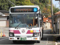 路線バスで大田市駅に戻ります。