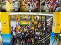 【サンパウロ・コンゴーニャス空港】  毎年、この時期(2〜3月)は、カーニバルの時期になりますので、どこもかしこも華やかになります。
