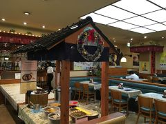 帰りも鹿児島空港まで送ってもらって、早めのランチタイムで「大空食堂」へ