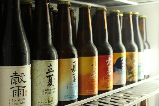ずらりと並ぶクラフトビール<br /><br />全て24節気から名前を取っているという、季節限定な贅沢ビール