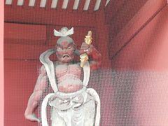これは埼玉の川口にあった真言宗の金剛力士像をこっちに持ってきたとのこと。
