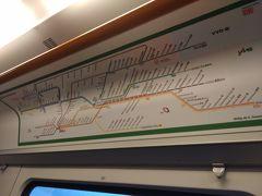 ライプツィヒの空港から中心部まで電車で移動。