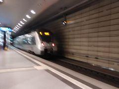 これがのってきた電車。 といってもボケちゃってる。。。