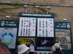 それでここから甲子園の写真です。 ポイント目当てで枚数を稼ぐと言えば露骨だろうか(笑)
