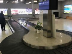 広島空港につきました。 前回(https://ssl.4travel.jp/tcs/t/editalbum/edit/11313729/)は全く写真を撮っておらず記憶にないですが、バゲッジクレームには何もキャラクターはおらず。