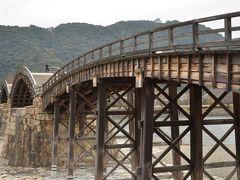 木造の5連橋で前後のアーチが緩やかで長めになっています。