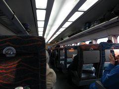 この日のとき301号は結構混んでいて、指定席は満席でした。上野からでもなんとか自由席に座れましたが、大宮からだったら座れなかったかもしれません...