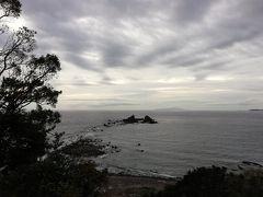 次の日、日の出を見るために、「真鶴岬」まで行きました。