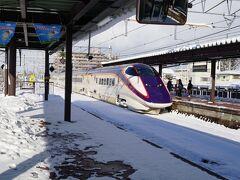 天童駅に到着。 山形13:33ー天童13:52  ここで、新潟駅からずっと一緒だった親子とお別れ。 天童をぶらぶらします。