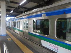 名取駅に到着  ここで福島行きに乗り換え