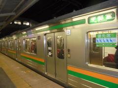 黒磯 17:47→ 宇都宮 18:39  205系電車