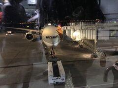 成田から初めてのカタール航空(QR)で乗継のドーハ(ハマド国際空港)へ22:00に出発