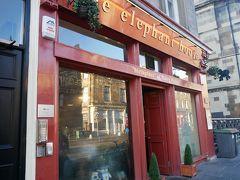 さぁ、ここが聖地エレファントカフェです。 J.K.ローリングさんがハリーポッターを創作したカフェです。  ここからハリーポッターは産まれたんですね。