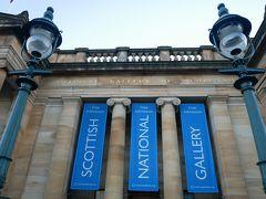 入場料無料のスコットランド美術館。 クリスマスマーケットと同じ敷地にあったので、入ってみました。