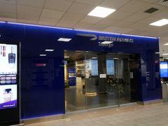 エディンバラ空港では、ブリティッシュエアラインのラウンジにお世話になりました。