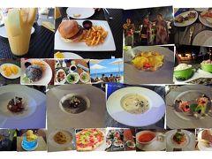 レストランは、朝タイズ、昼ブリーズ又はブコバー、夜コーリーコーブ又はAQUA又はタイズを利用。