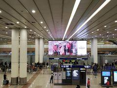 上海浦東空港に到着しました!