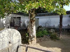 目的地を探して迷子。  途中、田中義一の生家跡に。  ブラタモリでタモリも訪れています。何でも本名の由来なんだとか。