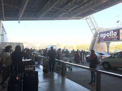 ジャイプル到着 かなりコンパクトな空港です