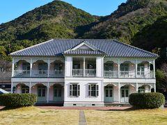 小泉八雲が宿泊した浦島屋旅館の復元建築物