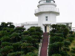 都井岬灯台が見えてきました。