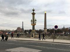 2018年,大晦日の午後は,ル・ムーリスから徒歩8分のオランジュリー美術館へ。  途中,エッフェル塔が見えるコンコルド広場に寄って,少しだけ遠回りしました。