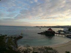 5日目(1/10)朝。旅行中で一番綺麗な朝の景色でした。 一日中晴れた日はなかったのが、冬だなぁと思わせましたが、東京よりは暖かかったです。