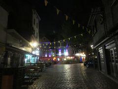 ザクセンハウゼンの街並み・・・  人通りがほとんどありませんでした!!   散策しようにも私は疲れ果ててもうダメです・・・  もうホテルに帰ります・・・