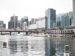 アイスを食べながらダーリングハーバーへ。 central hotelからの距離は約1.5km。 シドニーの美しい街並みを見ながら歩いていればあっという間です。