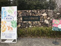 牧野植物園に来ました。  こちらもバス停が2か所あり、正門で降りてぐるっと見てから南門でまた乗るといいよと教えてもらいました。
