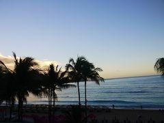 朝です。 帰国日です。 (´Д`)ハァ…帰りたくない。 帰ったら寒いじゃん…