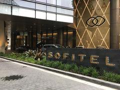 ホテルにチェックイン。 今回滞在したソフィティルシドニーダーリングハーバーは、比較的新しいホテルなので、とっても綺麗でした!