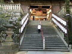 一度は来たかった吉備津神社。桃太郎伝説にゆかりのある神社です。