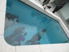 21世紀美術館、プール上から