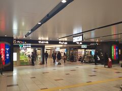新幹線やまびこ号で東京から2時間弱で仙台駅に到着! 2年前と変わらないなあと思いながら仙台駅を見渡します。