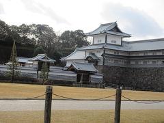 金沢城、橋爪門と五十間長屋
