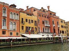カナルグランデ。 この旅の後、ベネチアは記録的高水位のアクアアルタに見舞われました。