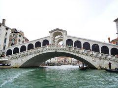 美しいリアルト橋。 まだ人が少ないかな。