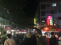 さっきのイベントにいくかすごく迷ったけど、チャイナタウンのナイトマーケットへ。