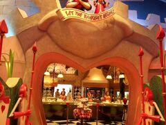 Sちゃんが食べたぁ~い、というリクエストにお答えしまして、やってきました。 クイーン・オブ・ハートのバンケットホール!