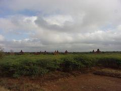 バガンの仏教遺跡が見渡せるビュースポット