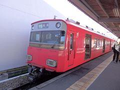 名鉄名古屋駅(←メイテツと読みます。そして名鉄名古屋駅は数少ないホームに 行き先の違う電車が次々と入線してくる超難解駅)まで徒歩移動、港のある河和に向かいます。