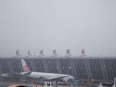 上海浦東国際空港に着陸しました。大型機もたくさん飛来します。