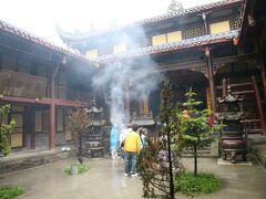 黄龍寺に到着。