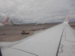 バヌアツ航空のポートビラ行の便に搭乗しました。
