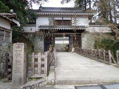 飫肥城 翌日には松飾が撤収されていました