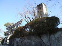 三十三間堂、京都国立博物館の西側の道大和大路通を北へ進みます。 程なく豊国神社に着きます。