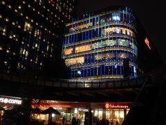 夜ごはんに、虹橋地区(といっても、ホテルから近かったですが)の高島屋百貨店に行ってみました。